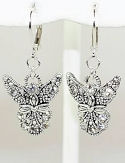 Cubic Zirconia Angel Earrings